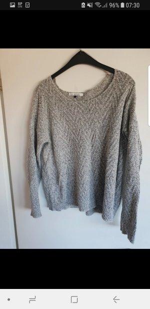 Only Pull tricoté gris clair-gris
