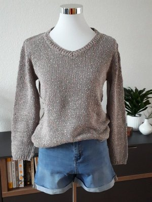 Blue Motion Knitted Sweater multicolored