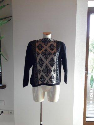 Vintage Wool Sweater multicolored merino wool