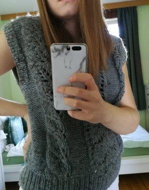 Cardigan en maille fine multicolore laine vierge