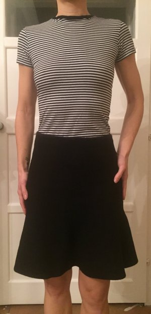 Zara Basic Gebreide rok zwart