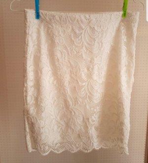 H&M Divided Jupe tricotée blanc