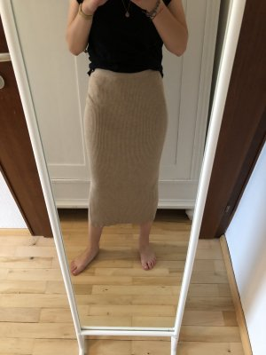 Mango Knitted Skirt multicolored