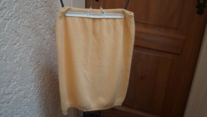 Knitted Skirt yellow new wool
