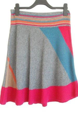 Promod Jupe tricotée multicolore laine