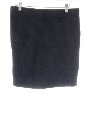 Strickrock schwarz Casual-Look