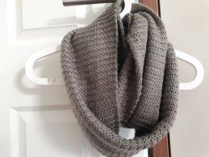Steve Madden Écharpe en tricot gris foncé