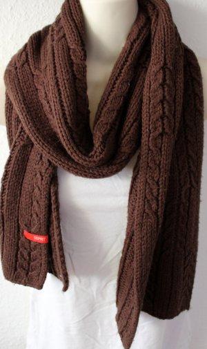 Esprit Écharpe en tricot brun