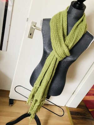 Knitted Scarf grass green