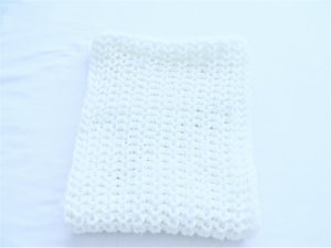 Pimkie Sciarpa lavorata a maglia bianco