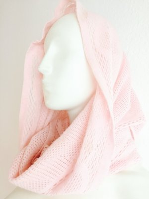 Strickschal Loopschal Rosa Neu