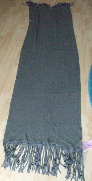 Codello Sciarpa lavorata a maglia grigio scuro Acrilico