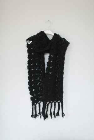 Levi's Crochet Scarf anthracite