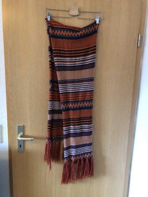 Nümph Écharpe en tricot multicolore