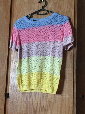 H&M Divided Camicia maglia multicolore