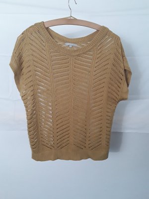 3 Suisses Knitted Jumper gold-colored-sand brown