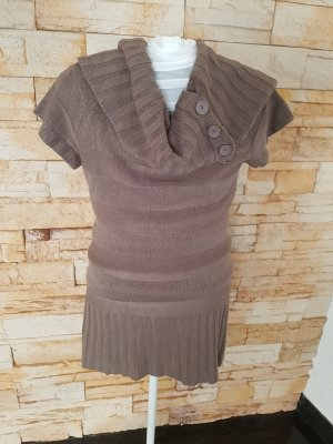 Knitted Jumper brown-brown red
