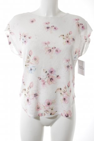 Camisa tejida estampado floral look casual