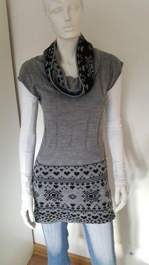 Knitted Jumper black-grey