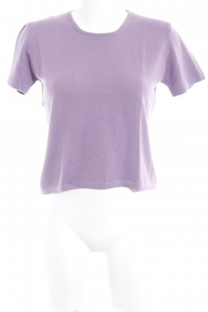 Strickshirt graulila Casual-Look
