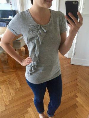 Saint Tropez T-shirts en mailles tricotées argenté-gris clair