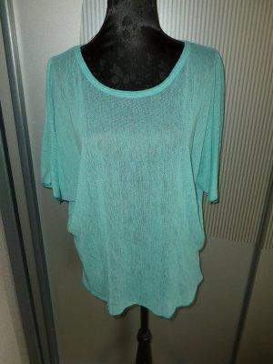 Camisa tejida azul claro