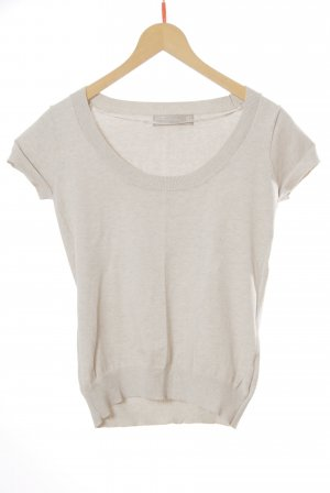 Zara Knitted Jumper natural white cotton