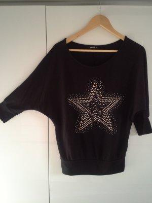 Stricksweatshirt mit Fledermausärmeln Gr.S