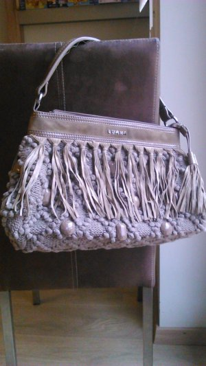 LUANA Fringed Bag multicolored wool