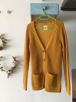 Clockhouse Knitted Vest ocher