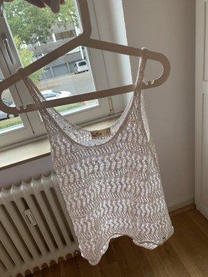 Hollister Haut tricotés blanc