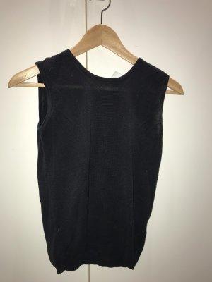 Alba Moda Haut tricotés noir