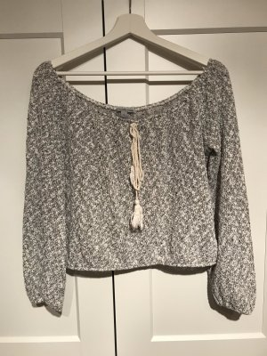 Charlotte Russe Knitted Top multicolored