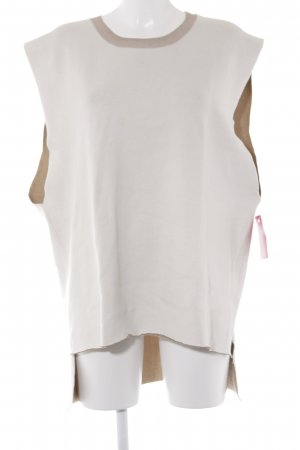 Knitted Top cream-light brown casual look