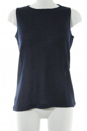 Knitted Top dark blue casual look