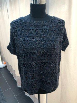 Tommy Hilfiger Maglione lavorato a maglia blu scuro