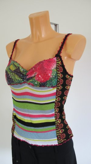 Stricktop Top Shirt Gr. 34/36 CHRISTIAN LACROIX WIE NEU ** NP 350,-€ **
