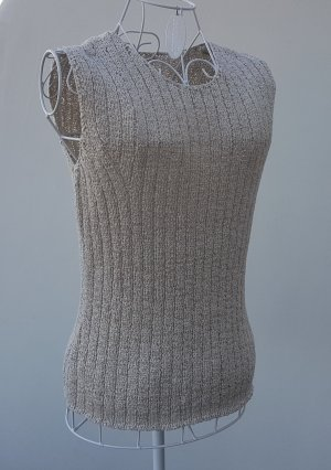Savannah Knitted Top beige mixture fibre