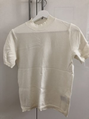 H&M Knitted Top cream
