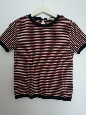 Zara Knit Knitted Top multicolored