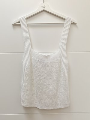 Zara Knitted Top white