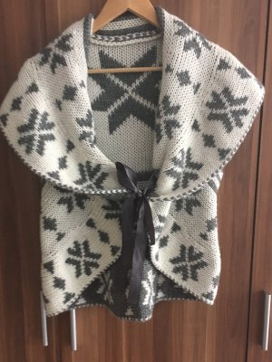 Knitted Vest multicolored wool