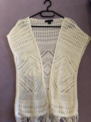 Atmosphere Knitted Vest white