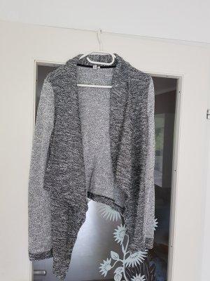 Esprit Smanicato lavorato a maglia grigio chiaro-grigio