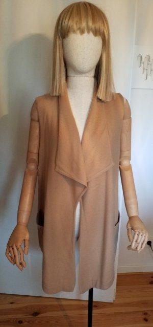 Darling Harbour Knitted Vest camel