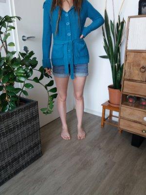 Vero Moda Gilet tricoté bleu fluo