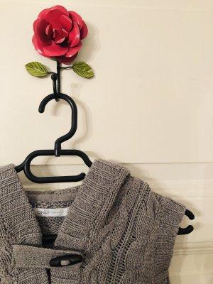 Only Knitted Vest dark grey-grey
