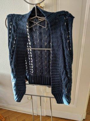 Villa Knitted Vest petrol-cadet blue