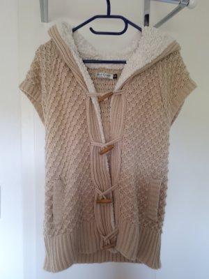 Knitted Vest light brown