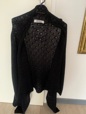 Only Coarse Knitted Jacket black